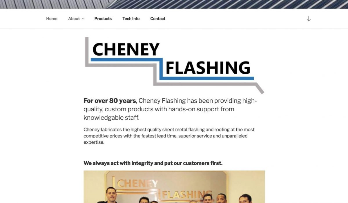 cheney-flashing