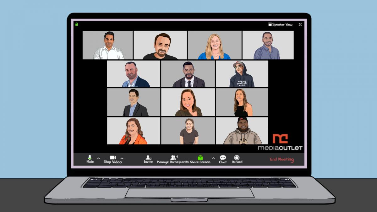 mediacutlet team illustration